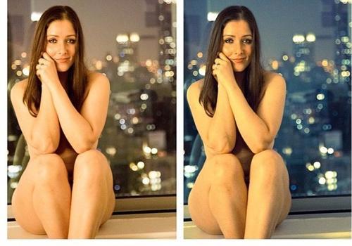 De topless, Geisy Arruda protesta contra o estupro no país