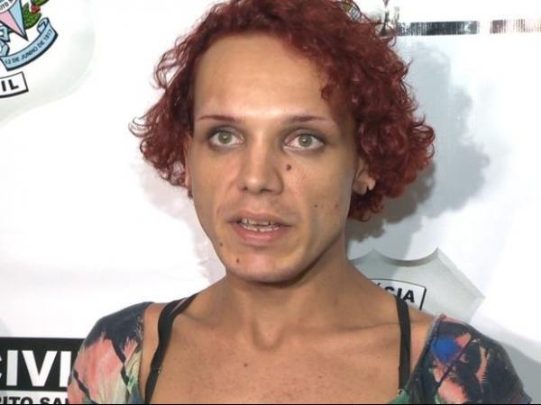 Imagens mostram travesti correndo após morte de policial no ES