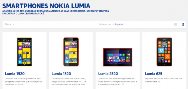 Qual Nokia Lumia comprar? Conheça os Windows Phones à venda no Brasil