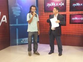 "Israel Barcelar, cantor de Reggae Gospel se apresenta no ""Patrulha"""