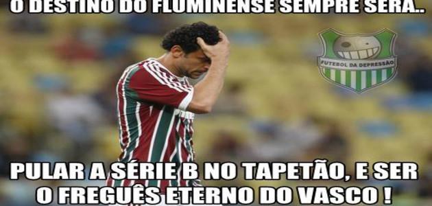 Fluminense vira alvo de zoações na internet depois da eliminação