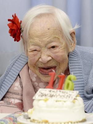Mulher mais velha do mundo está