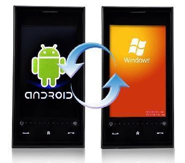 Fabricante pode lançar smartphone com Android e Windows Phone