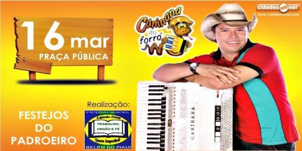 Caninana do Forró fará show em praça pública no encerramento dos festejos de São José - Imagem 1