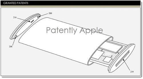 Patente mostra possível iPhone com duas  telas flexíveis e display curvo em 360 graus
