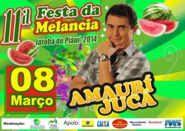 Festa da Melancia em Jatobá do Piauí terá grandes shows em 2014