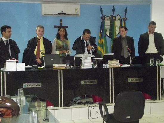 Justiça de Guadalupe realiza julgamento com Júri Popular