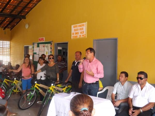 Prefeitura de Caracol entrega bicicletas do Pedala Piauí - Imagem 12