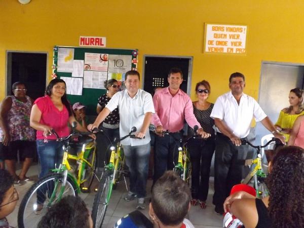 Prefeitura de Caracol entrega bicicletas do Pedala Piauí - Imagem 15