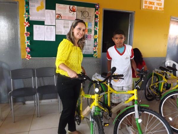 Prefeitura de Caracol entrega bicicletas do Pedala Piauí - Imagem 6