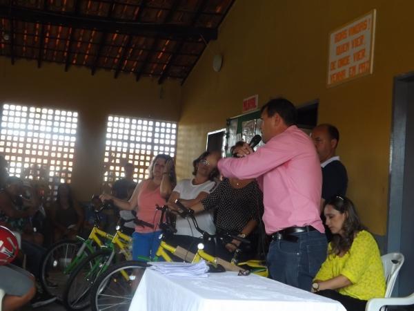 Prefeitura de Caracol entrega bicicletas do Pedala Piauí - Imagem 8