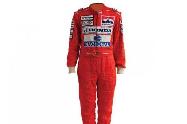Macacão usado por Ayrton Senna na vitória do GP de Mônaco de 1991 será leiloado