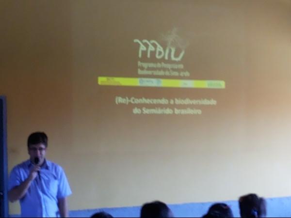 Seminário (re)conhecendo a biodiversidade do semiárido brasileiro  - Imagem 1
