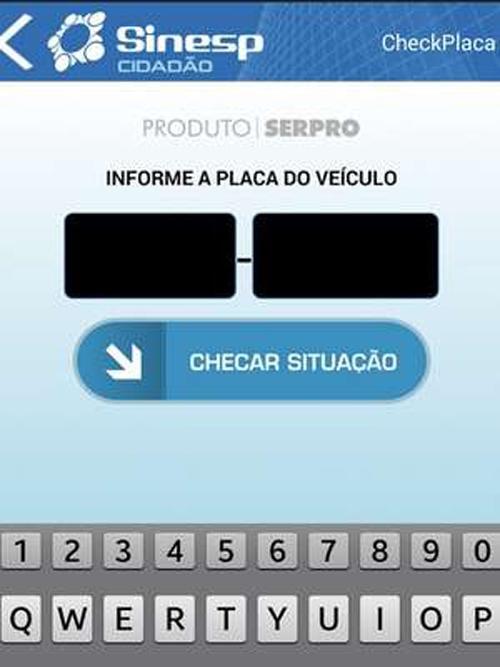 App do governo devolveu 33 mil veículos roubados no Brasil