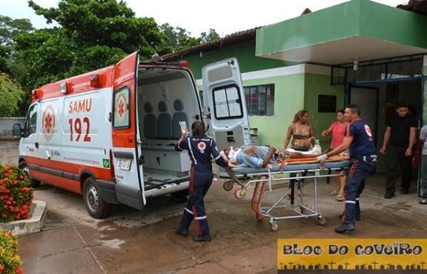 Homem de 62 anos fica gravemente ferido ao sofrer acidente de moto
