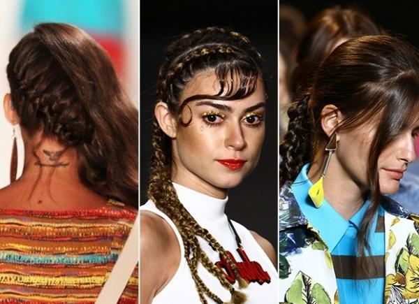 Veja os hits de penteados e maquiagens para o próximo verão