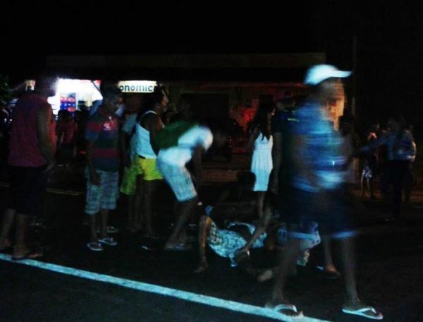 Colisão deixa idoso gravemente ferido; motociclista estaria embriagado