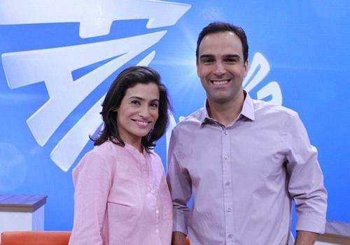 Renata Vasconcellos e Tadeu Schmidt apresentam mudanças no Fantástico