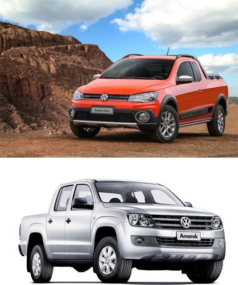 Volkswagen leva Saveiro e Amarok para salão náutico no Rio de Janeiro