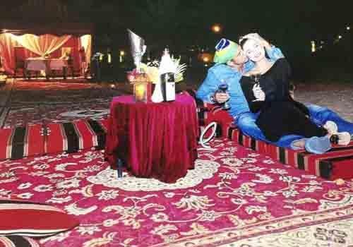 Rayanne Morais e Latino mostram fotos da lua de mel em Dubai