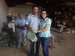 Prefeitura de Caxingó entrega cestas para 1.500 famílias na semana santa