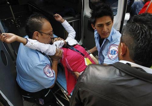 Terremoto atinge a região de Acapulco, no México