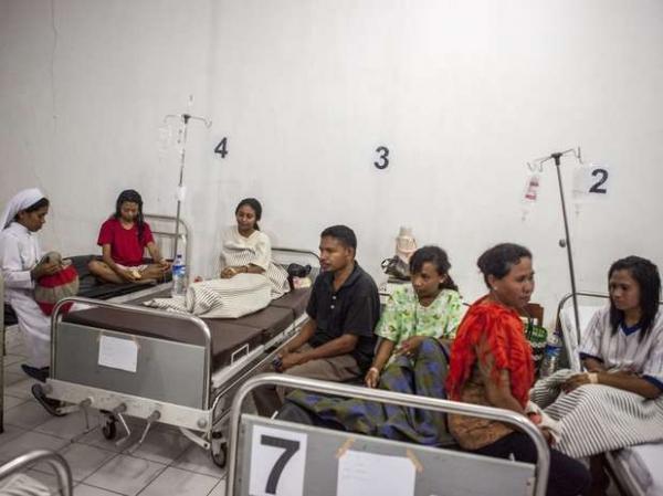 Sete pessoas morrem em naufrágio na Indonésia