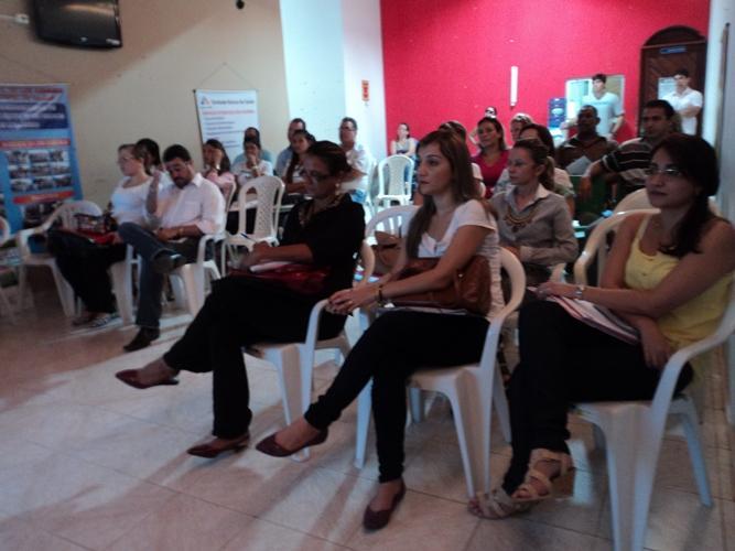 Secretaria de Saúde de Luís Correia reúne profissionais da saúde em treinamento sobre saúde mental