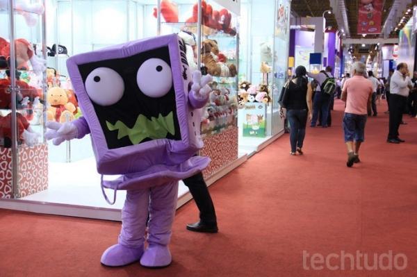 Com muita tecnologia agregada, feira de brinquedos brasileira surpreende