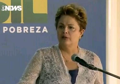 Dilma se emociona no Galeão ao falar do Samba do Avião e exilad