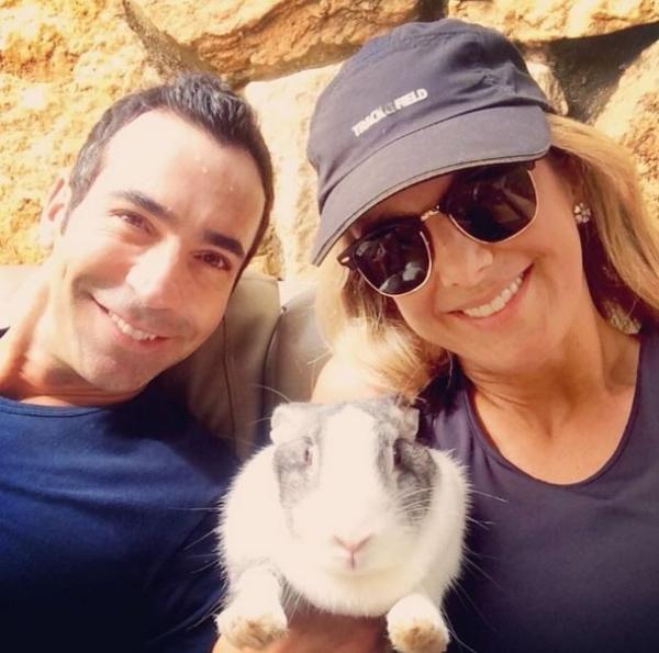 Ticiane Pinheiro e Tralli comemoram a Páscoa: