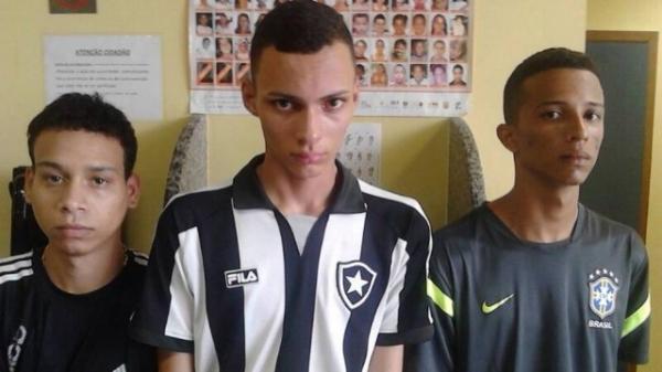 Três jovens são presos após roubarem um carro no Jardim Sulacap