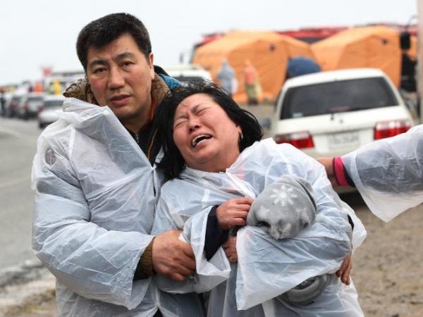 Autoridades confirmam mais de 100 mortos em naufrágio na Coreia do Sul