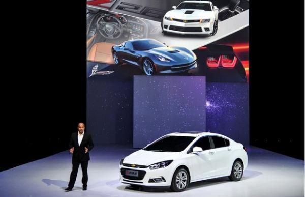 Chevrolet apresenta nova geração do Cruze no Salão de Pequim