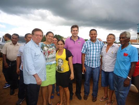 Prefeito Joel recebe visita do deputado Warton Santos