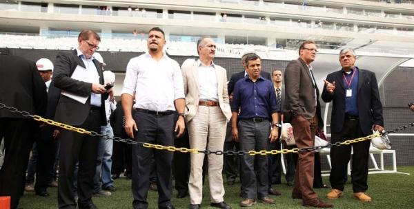 Pronta em cima da hora, Arena Timão não terá teste com público de Copa