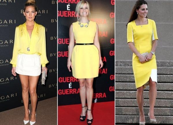 De Kate Middleton a Thaila Ayala: amarelo segue como a cor da vez