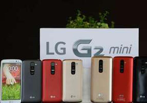 O smartphone LG G2 Mini chega ao Brasil por um preço de R$ 1.299