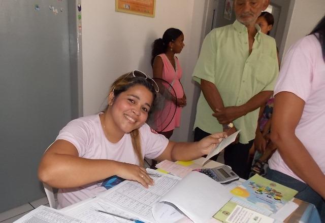 Inicio da Campanha de vacinação contra gripe em Canavieira