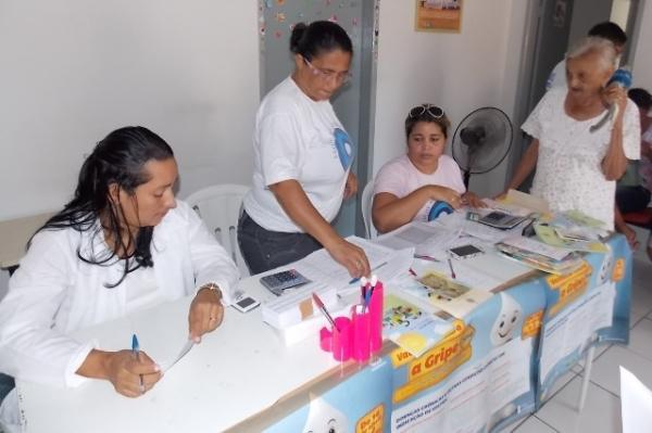 Inicio da Campanha de vacinação contra gripe em Canavieira - Imagem 6