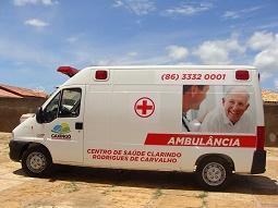 Prefeitura de Caxingó recupera ambulância do município