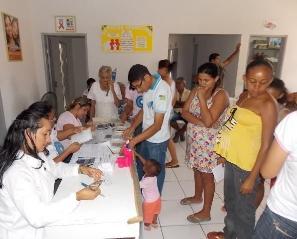 Inicio da Campanha de vacinação contra gripe em Canavieira - Imagem 4