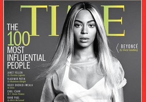 Beyoncé está entre as pessoas mais influentes do mundo em lista de revista