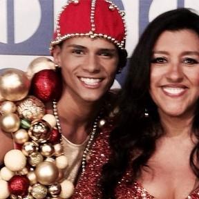 Regina Casé lamenta morte de dançarino: