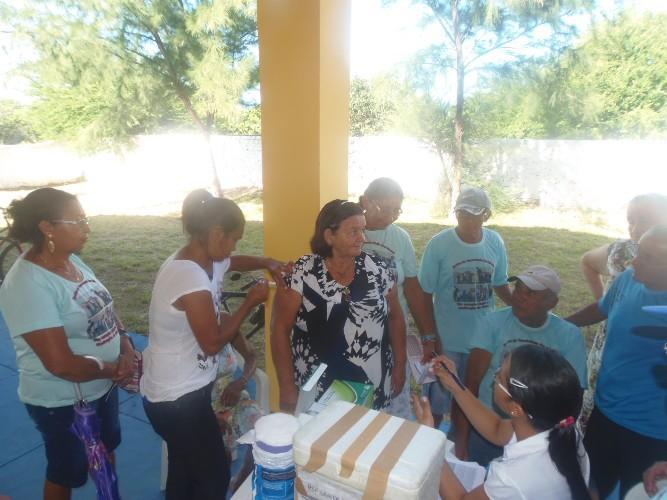 Tem início campanha de vacinação contra a gripe em Luís Correia