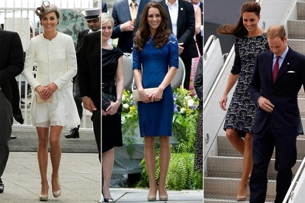 Pé no chão! Kate Middleton usa os mesmos sapatos desde 2011