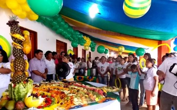 Caminhada da saúde abre a programação de aniversário de Canavieira - Imagem 1