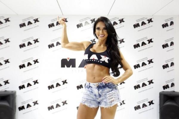 Saradonas se encontram em evento fitness no Rio