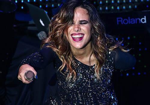Grávida de seis meses, Wanessa faz último show antes de licença
