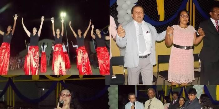 Dia do evangélico é comemorado com grande festa e muito louvor  em Canavieira